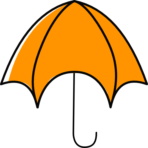 Orange Umbrella Travel
