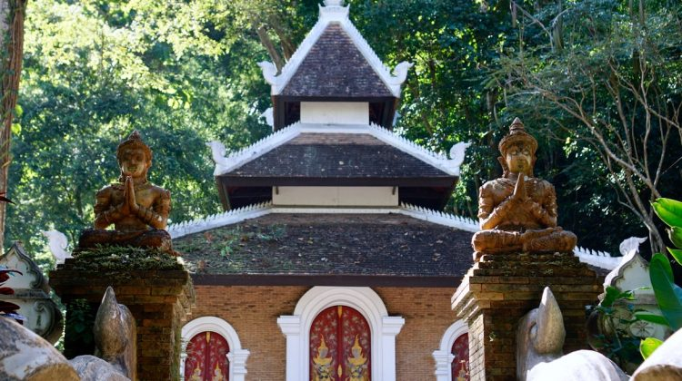 Wat Pha Lat to Doi Suthep Hike in Chiang Mai, Thailand